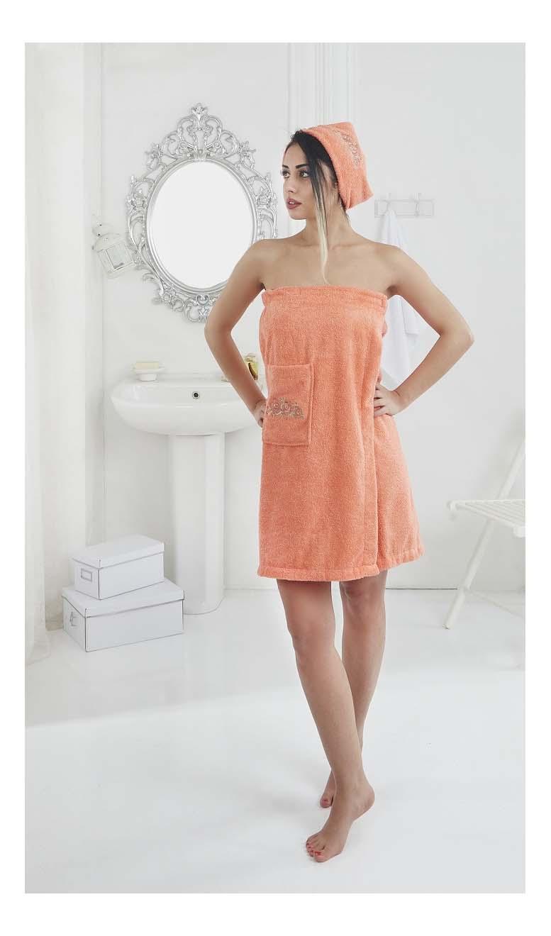 Набор для бани KARNA Pera оранжевый