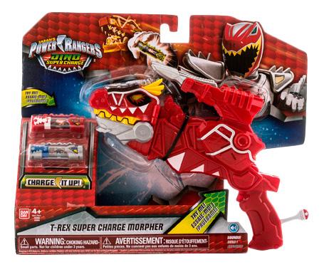 Бластер Bandai Power Rangers Dino Charge. Диноморфер красный