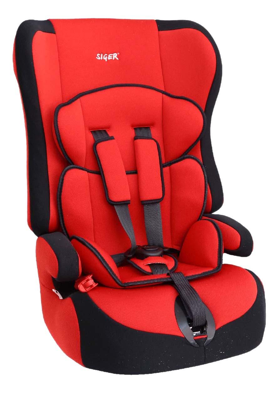 Автокресло Прайм красное от 9 до 36 кг SIGER KRES0002