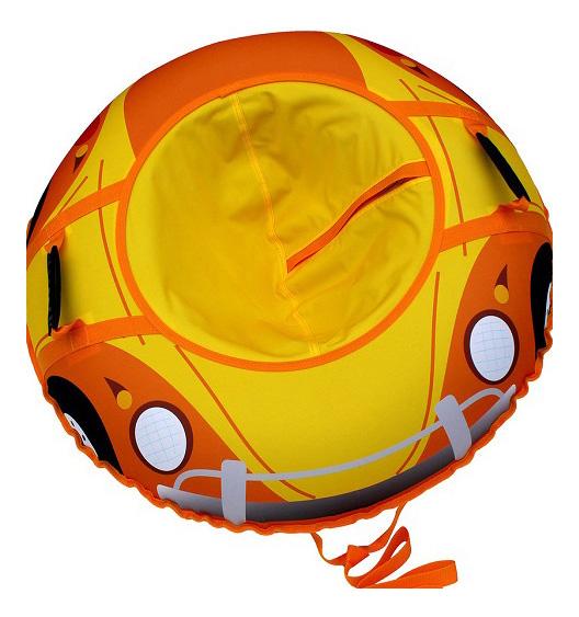Купить Тюбинг детский Веселая машинка 00-00004123, 95см, Тюбинг Митек Веселая машинка 95 см, Тюбинги