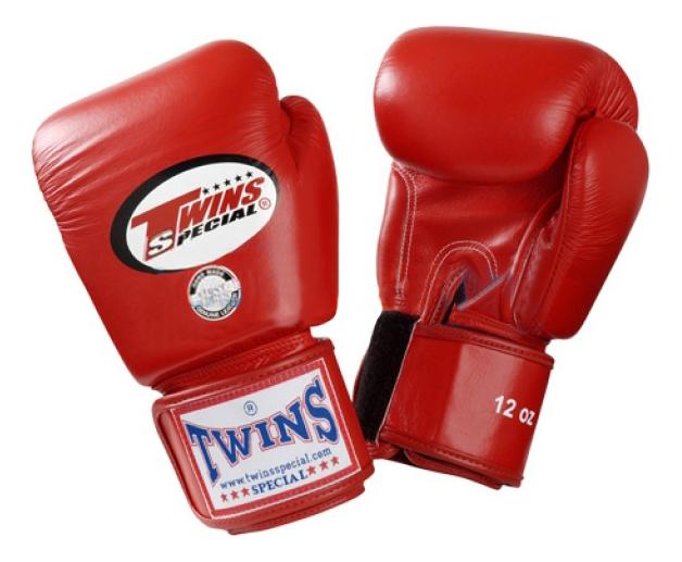 Боксерские перчатки Twins Special BGVL 3 красные