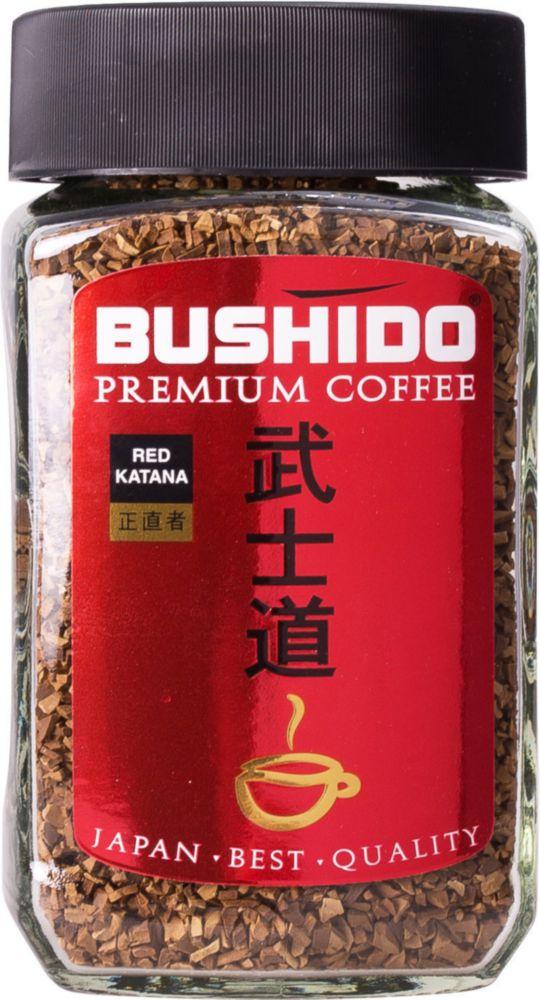 Кофе растворимый Bushido red katana 100 г фото