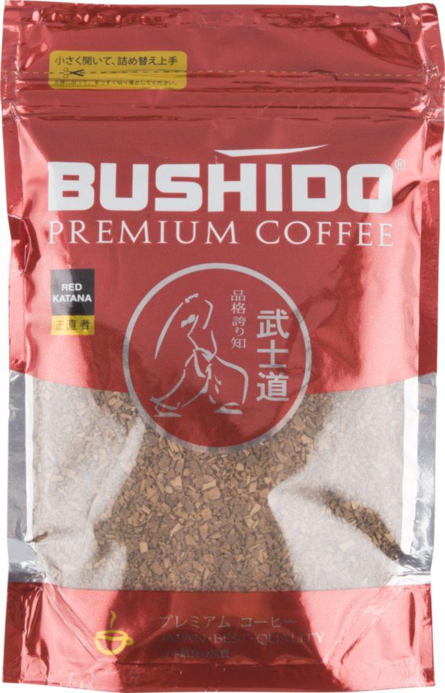 Кофе растворимый Bushido red katana 75 г фото