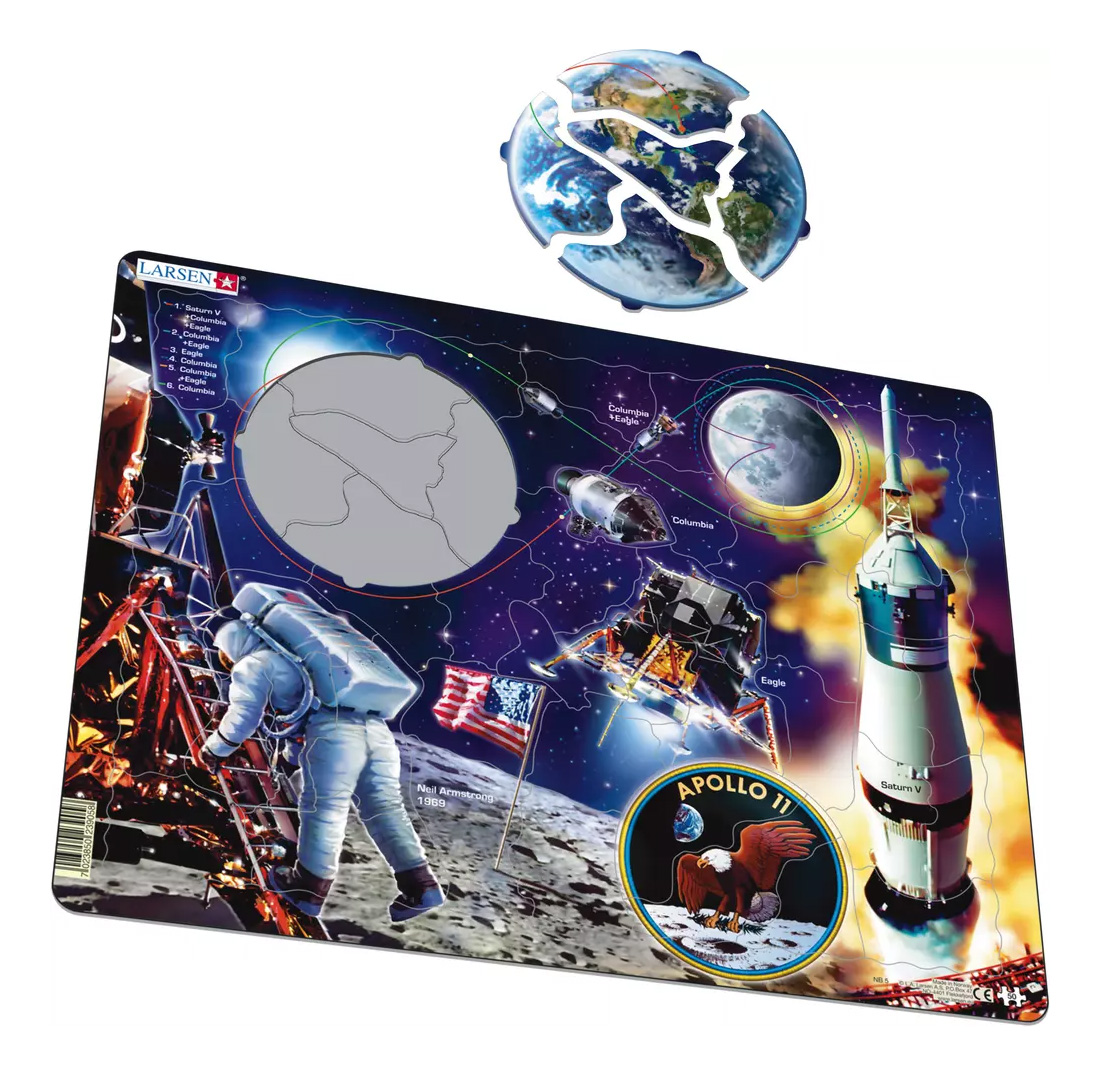 Пазл Larsen Аполло 11, Пазлы  - купить со скидкой