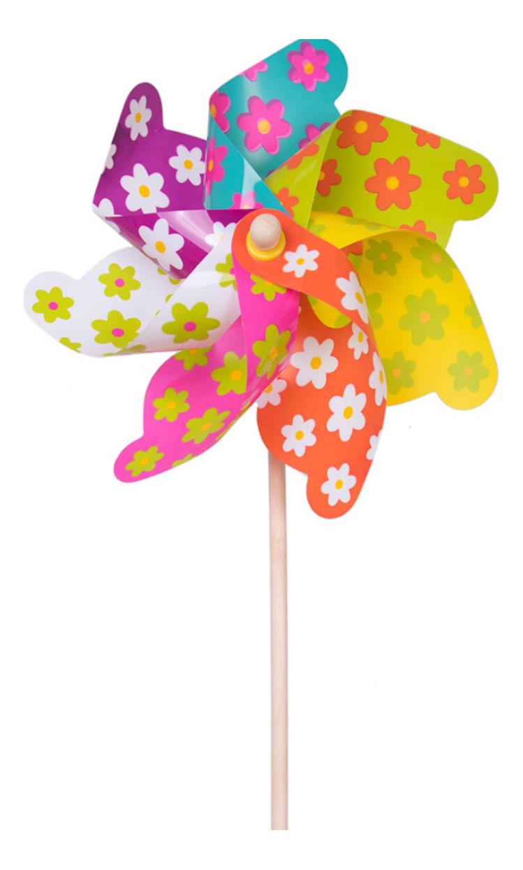 Ветрячок - Цветочки Fresh trend 84042
