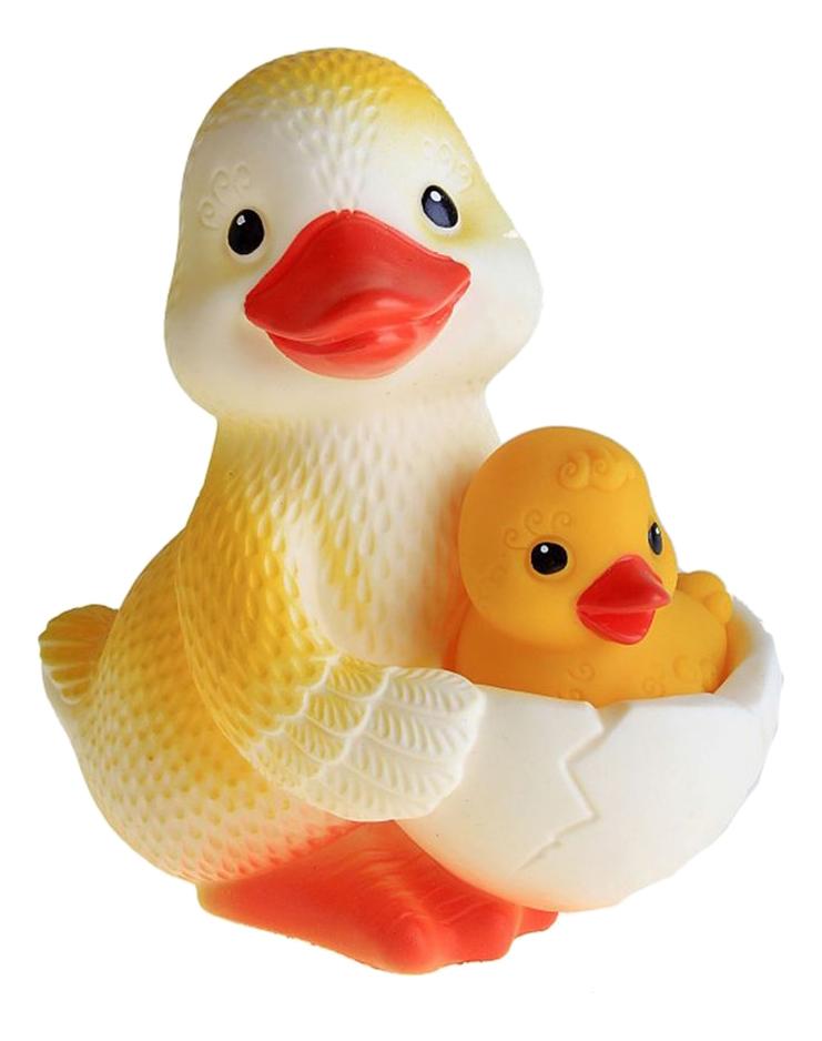 Купить Игрушка для купания ОГОНЕК Утка-мама №1 (с утенком), Огонек, Игрушки для купания малыша