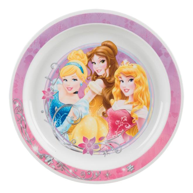 Тарелка детская Принцессы 22 см Trudeau 6544040 фото