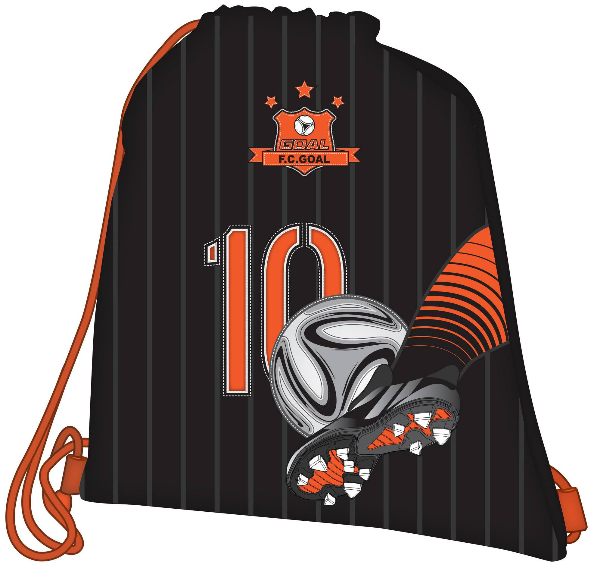 Ранец Target цвета FC Holland (Голландия, черно-оранжевый)