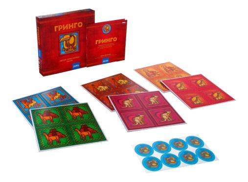 Купить Настольная игра Гринго Bondibon Ф60990, Семейные настольные игры