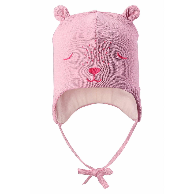 Купить 718736-4070, Шапка Lassie by Reima для мальчиков и девочек р.2 розовый, Шапка для девочек