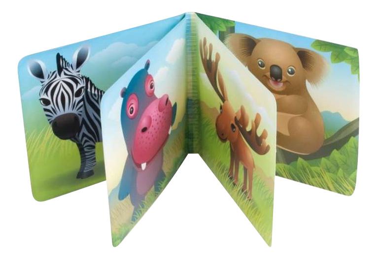 Купить Мягкая книжка-пищалка для купания Цветная ферма Canpol Babies, Книги по обучению и развитию детей
