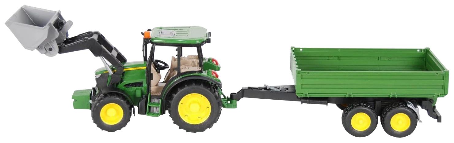 Купить Спецтехника Gratwest Трактор с прицепом Farm 9, 5 см, Строительная техника