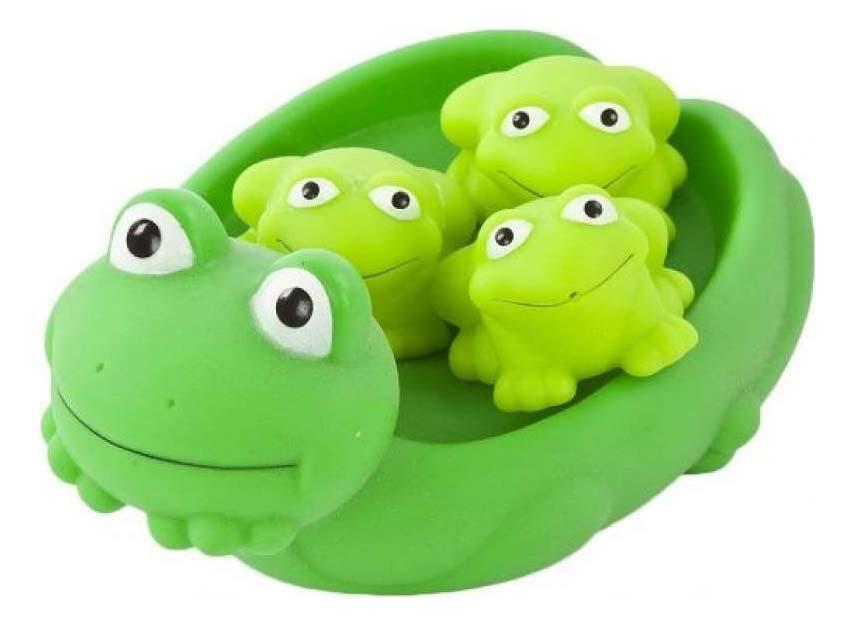 Игрушки для ванной Лягушка-мыльница Играем вместе LXJ1B фото
