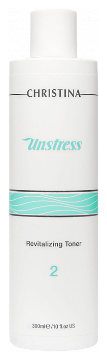 Купить Тоник для лица Christina Unstress восстанавливающий 300 мл, Тоник восстанавливающий баланс