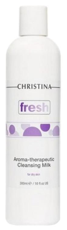 Арома-терапевтическое очищающее молочко Christina Fresh для сухой кожи 300 мл фото