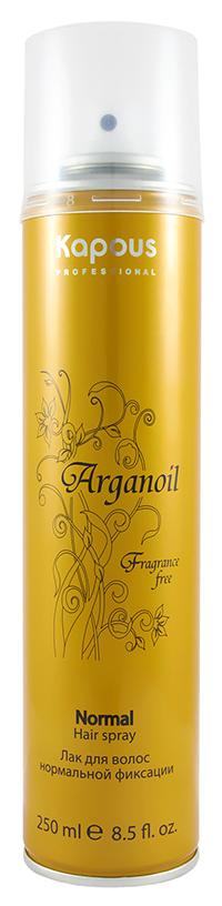 Лак для волос Kapous Professional Arganoil Normal Hair