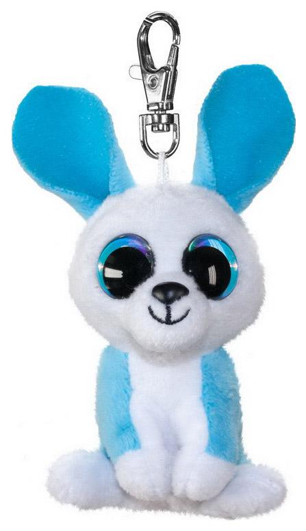 Брелок кролик ice голубой 8,5 см