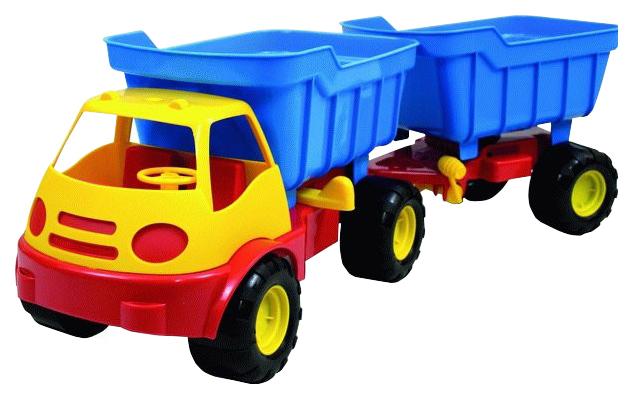 Машинка пластиковая Zebratoys Самосвал Active с прицепом 15-5310, в асс.
