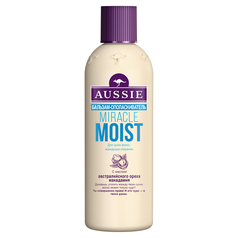 Бальзам для волос Aussie Miracle Moist Для сухих и поврежденных волос 250 мл