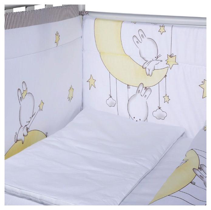 ЭДЕЛЬВЕЙС Комплект в кроватку Лунные качели (4 предмета, цвет: кофе) УТ0010272 фото