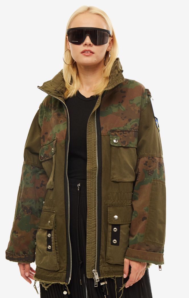Куртка женская DIESEL зеленая