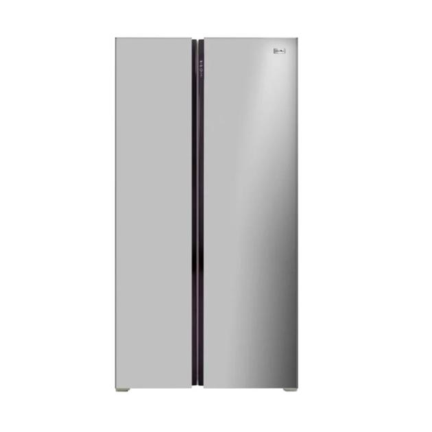 Холодильник Ascoli ACDS450W Silver.