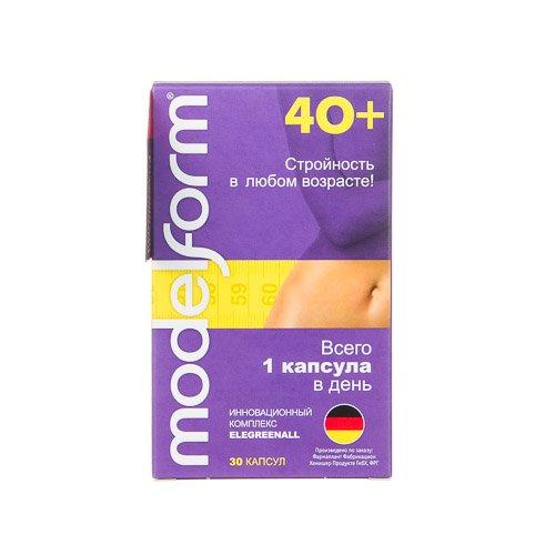Modelform 40+ 380 мг капсулы 30 шт.