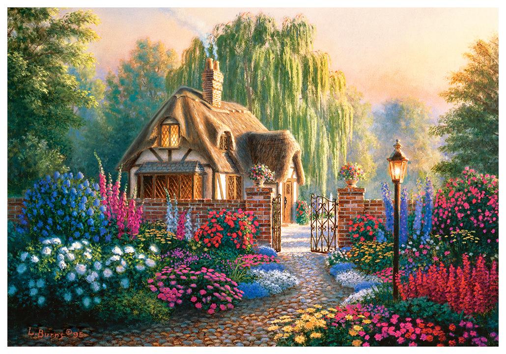 Купить CASTORLAND Пазл Крэнфилдский сад 1000 элементов C-103973, Пазлы