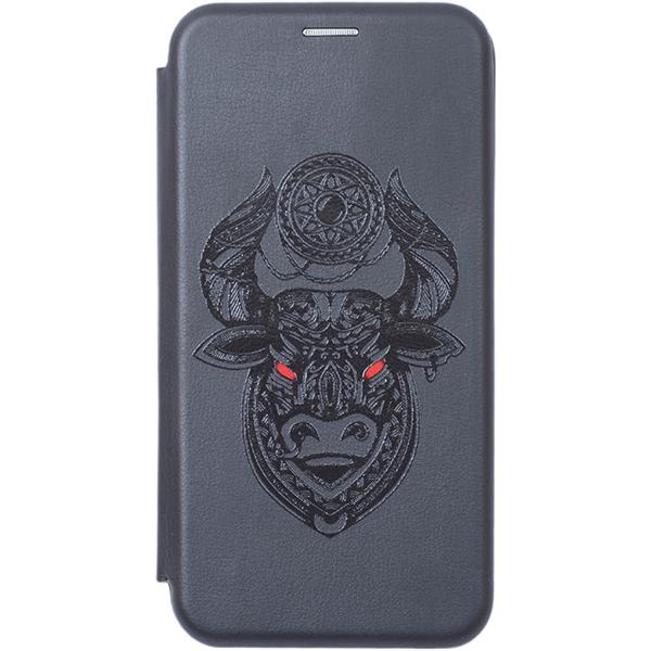 Чехол Gosso Cases для P Smart (2019) / Honor 10 Lite Black «Grand Bull»
