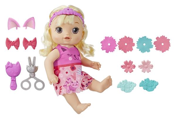 Кукла Hasbro Baby Alive Малышка у парикмахера E5241RS0