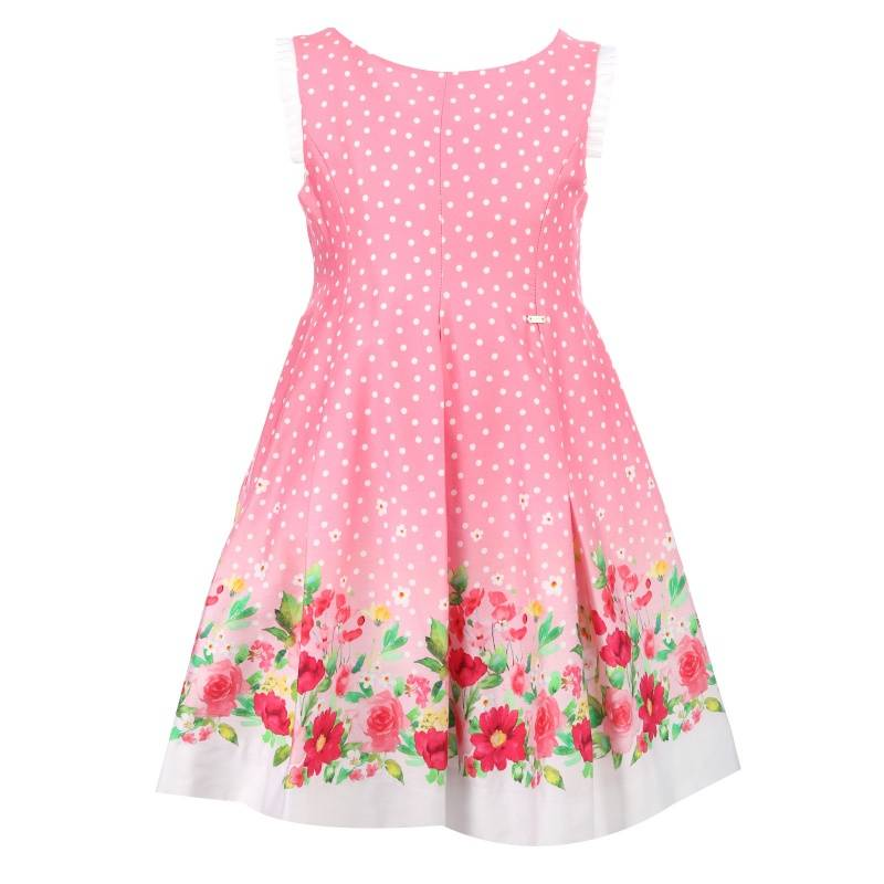 Платье MAYORAL, цв. розовый, 122 р-р, Детские платья и сарафаны  - купить со скидкой