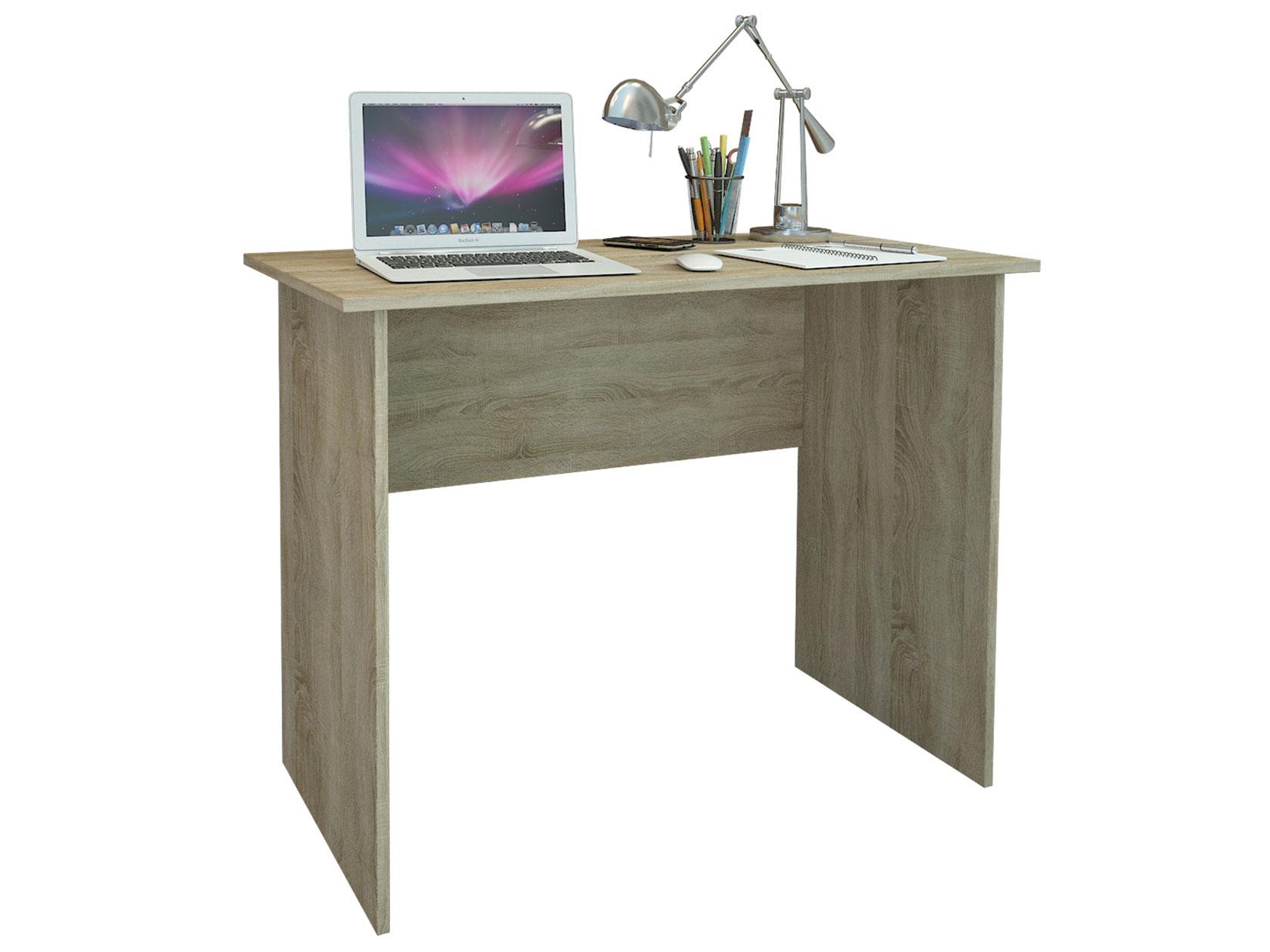 Компьютерный стол МФ Мастер Милан-105 100x50x75, дуб сонома