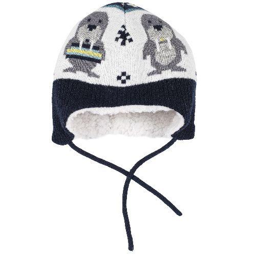 Купить Шапка Chicco для мальчиков р.3 цвет белый, Детские шапки