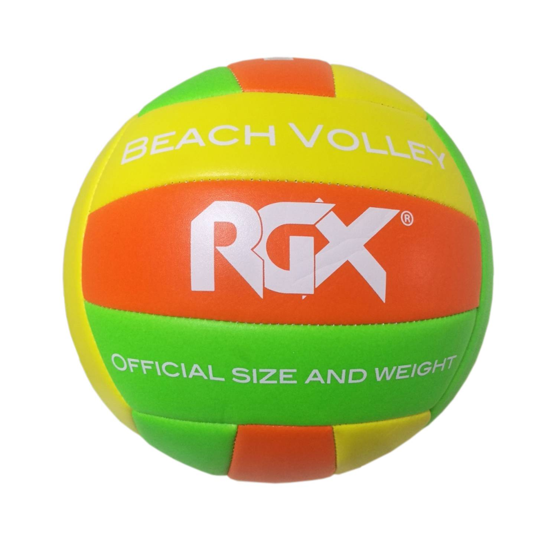 Волейбольный мяч Rgx RGX-VB-1803 №5 green/orange фото