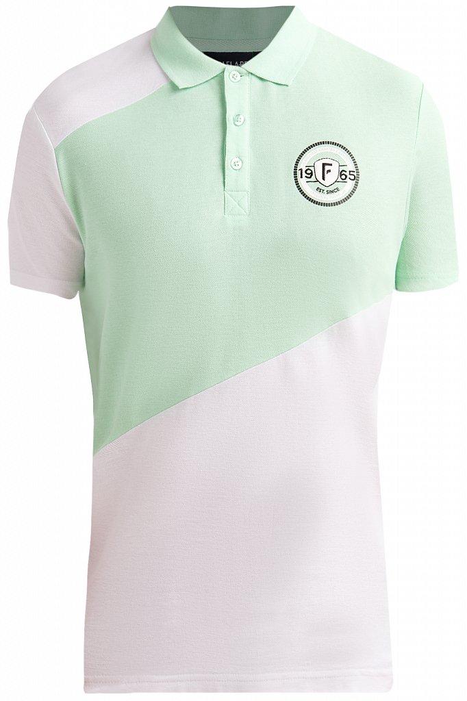 Купить KS19-81016, Футболка Поло для мальчика Finn Flare, цв. зеленый, р-р. 158, Детские футболки, топы