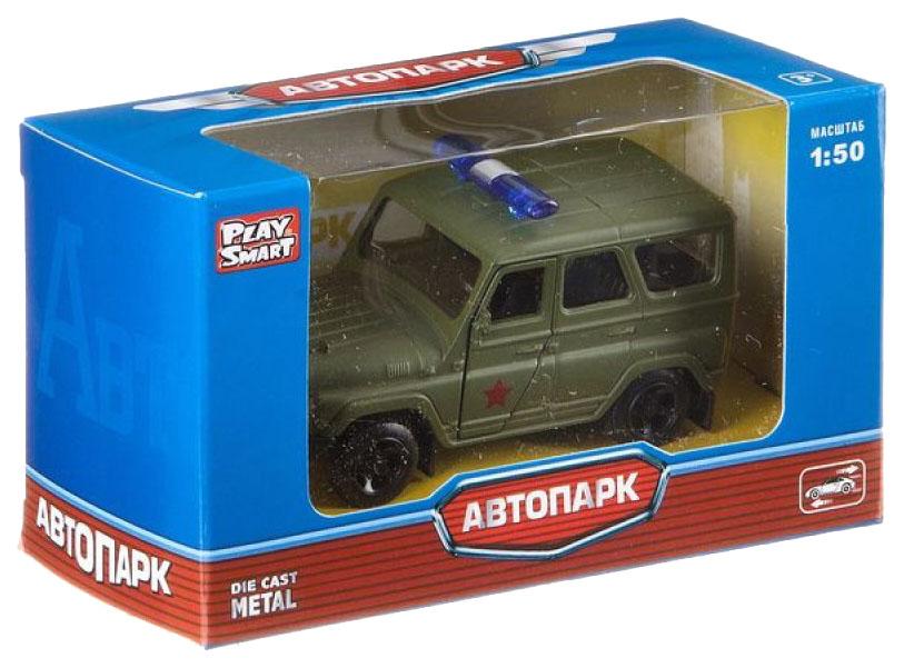 Купить Джип Автопарк Play Smart 1:50 арт. 6401A., PLAYSMART, Военный транспорт