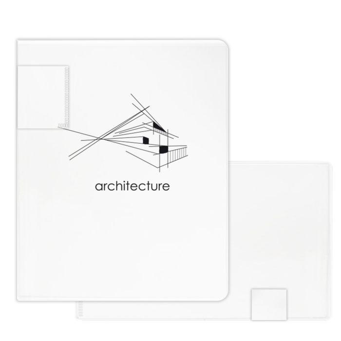 Папка-портфолио для документов, формат А3, размер 31.5x24.5 см Феникс+