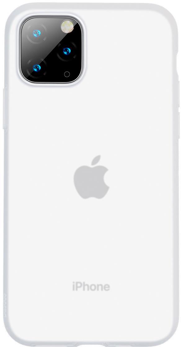Чехол Baseus Jelly Liquid Silica Gel для iPhone 11 Pro Max Transparent White