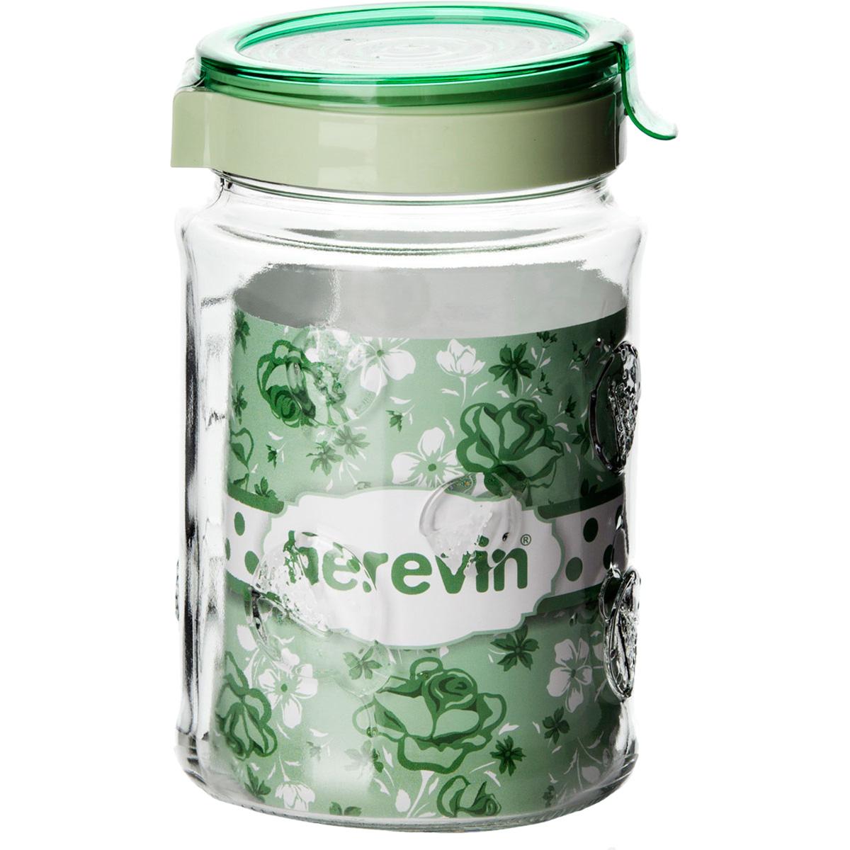 Банка с крышкой Herevin 1000 мл 143101-500