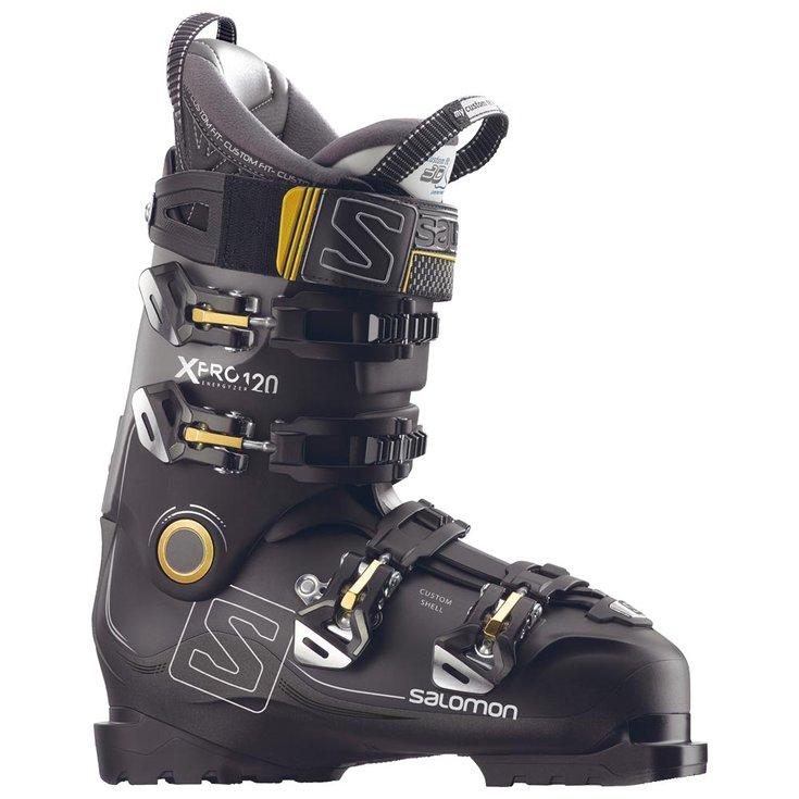 Горнолыжные ботинки Salomon X Pro 120 2018, black/metablack/gray, 27.0 фото
