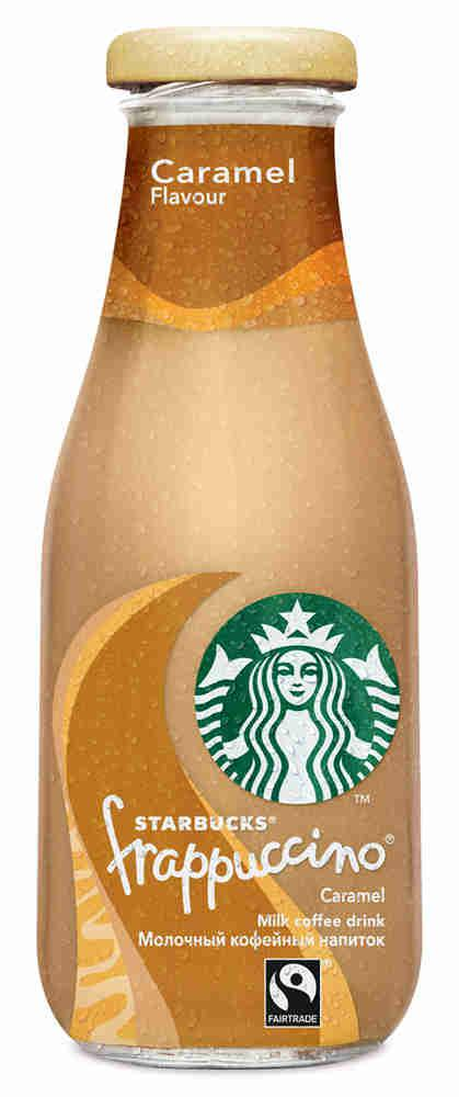 Напиток Starbucks Frappuccino Caramel 1.2% 250мл