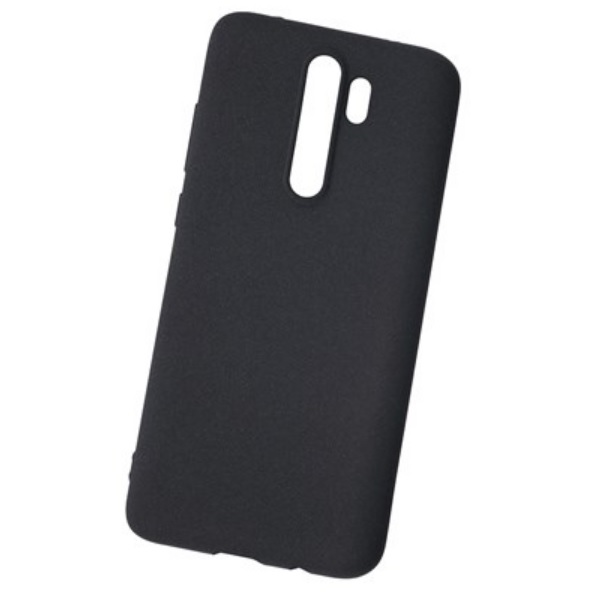 Чехол NewLevel Fluff для Xiaomi Redmi Note 8 Pro Hard Black