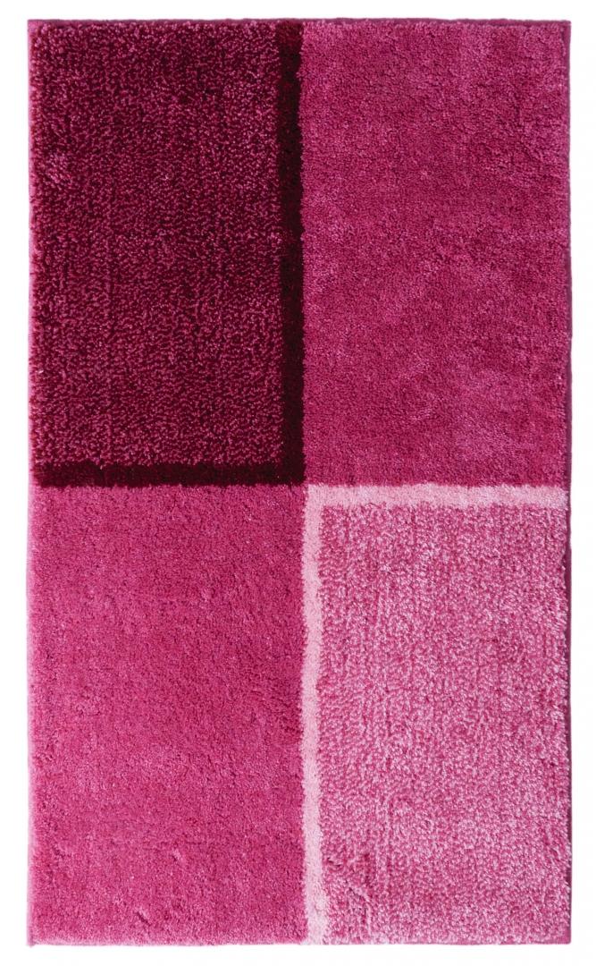 Коврик для ванной комнаты Penny розовый 60*100