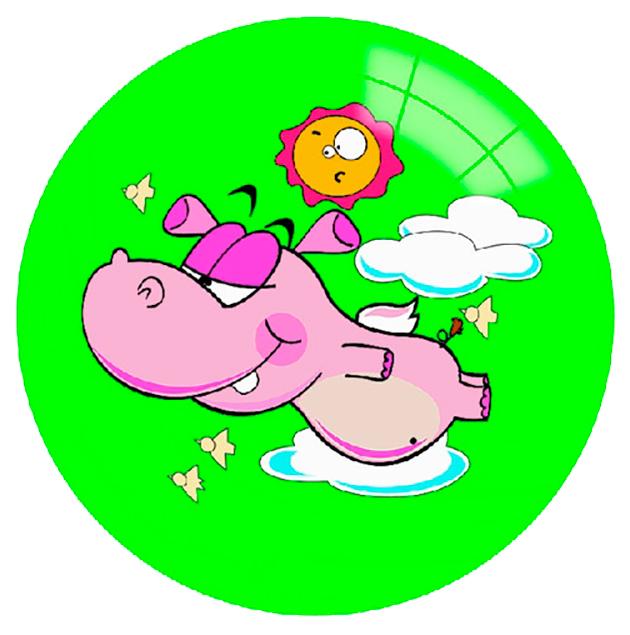 Мячик Детский Shenzhen Toys Летающий Бегемот C20409