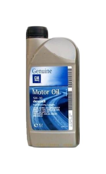 Моторное масло General Motors Dexos2 5W