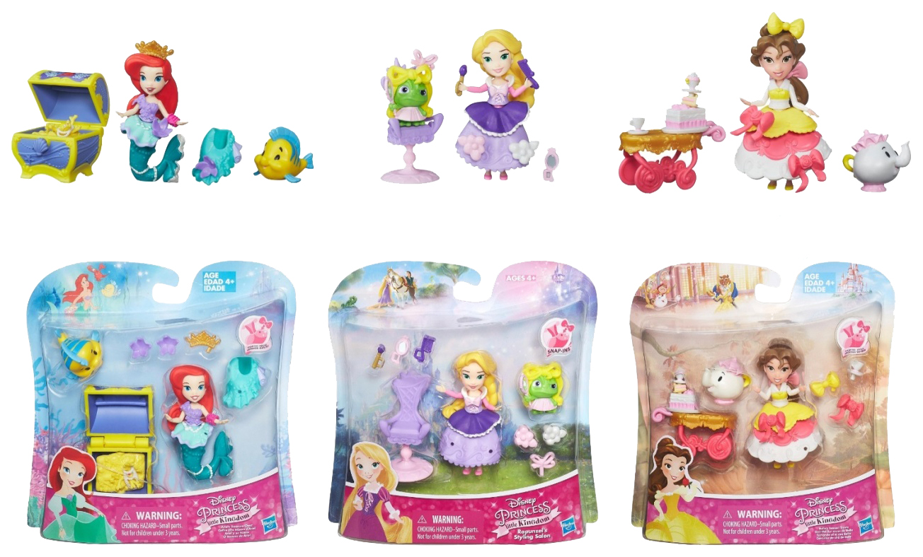 Фигурки персонажей Hasbro Disney Princess с аксессуарами