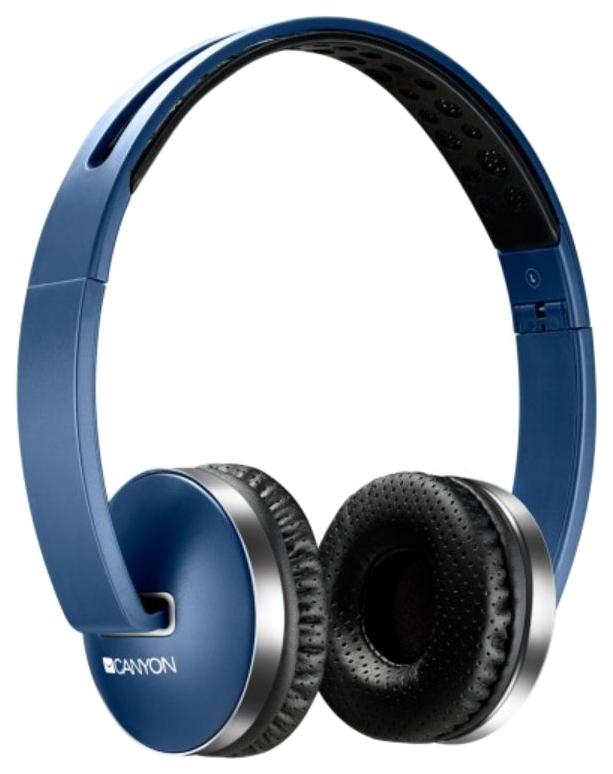 Беспроводные наушники Canyon Foldable Headset Blue