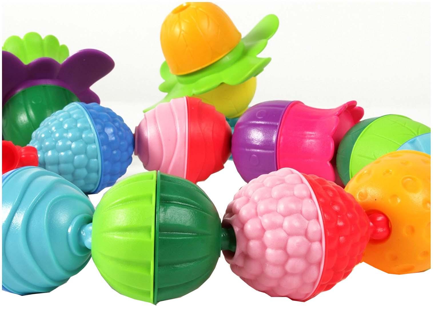 Купить Развивающая игрушка LALABOOM 30 предметов, Интерактивные развивающие игрушки