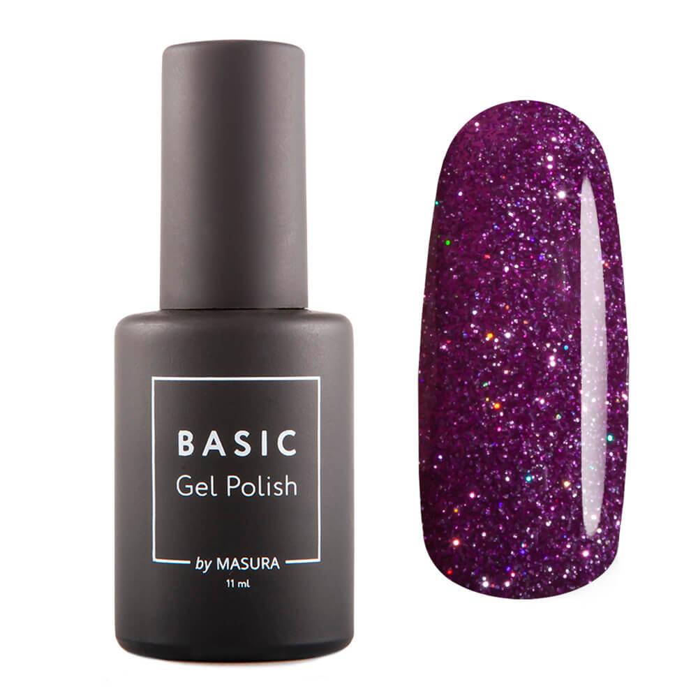 Гель-лак Masura BASIC Пурпурный Микс, 11 мл