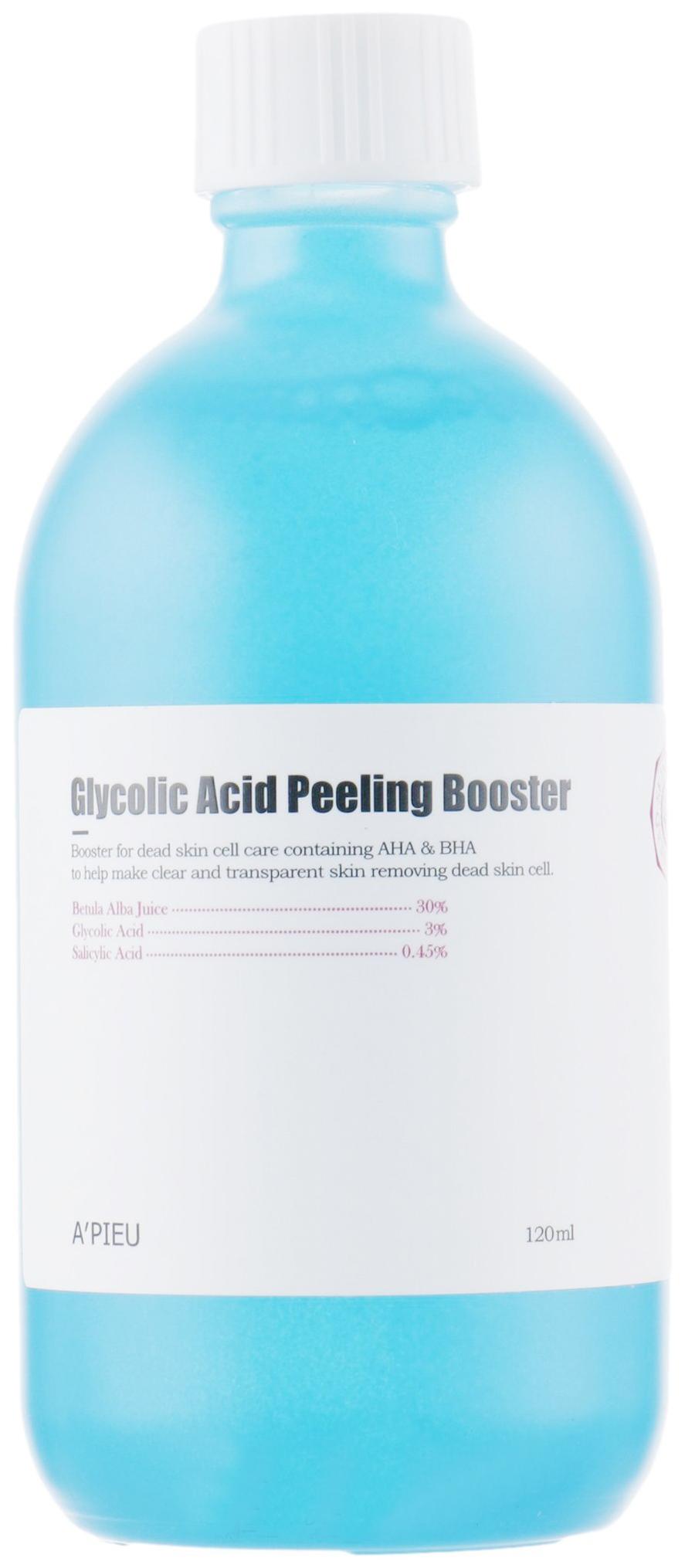 Купить Пилинг для лица A'pieu Glycolic Acid Peeling Booster 120 мл
